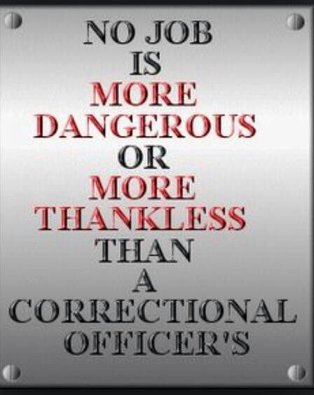 Correctional Officers  My Man    Officer