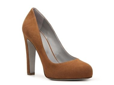 Incaltaminte Femei Sergio Rossi Nubuck Leather Pump Tan