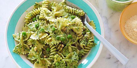 Pasta, Pesto and Peas