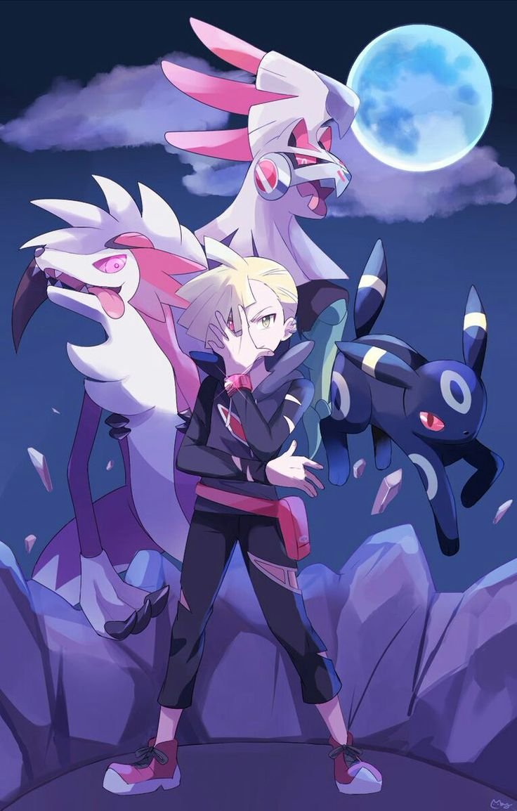 Gladion doesn't have Silvally in the anime yet, but this is still amazing!