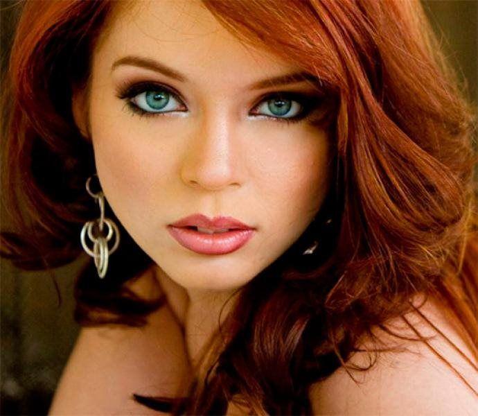 awesome Гармоничный макияж глаз для рыжих волос (50 фото) — Как подобрать оттенки? Читай больше http://avrorra.com/makiyazh-dlya-ryzhix-volos-foto/