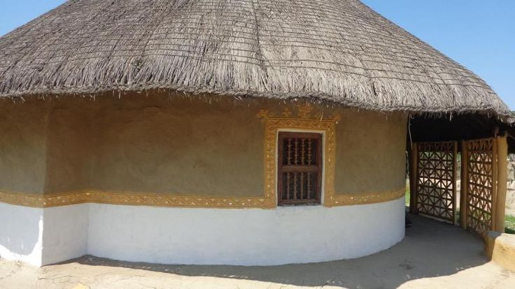 "Rann Utsav Kutch - Bhunga - ""The Mud House"""