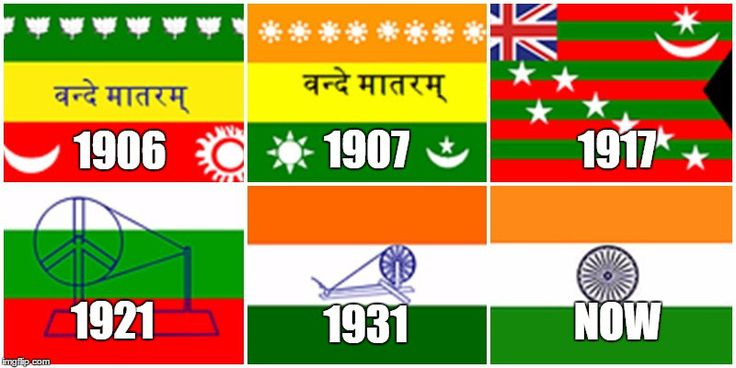 Evolution of Indian National Flag --  Happy Independence Day Dude.! Do you know that our Indian national flag was not compiled at a single go? Yes, our tricolor flag went through various changes before what is it today. Let's traverse through history to find the breakpoints in the evolution of our Indian national flag.