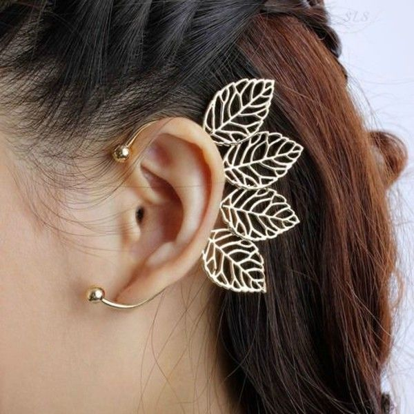 Image result for ear cuffs for unpierced ears