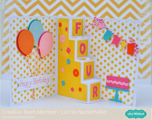 Step Card Tutorial.  Lori whitlock file