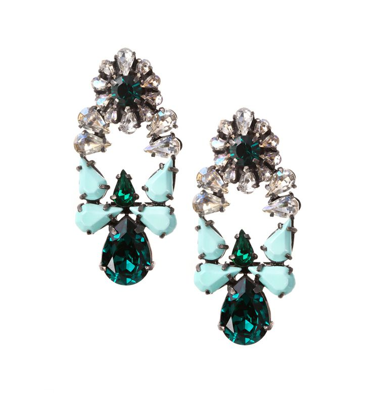 Jewels that Rock - Shourouk Designer Jewellery Mint in everyway for that perfect spring look