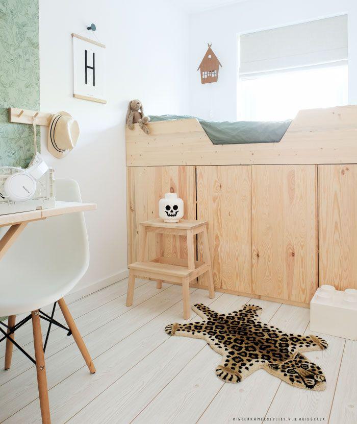 Verbazingwekkend DIY #Hoogslaper bouwen #zelfmaken #kinderkamer | Huisgeluk via MI-93
