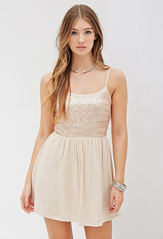 Sequined Cami Dress   FOREVER21 - 2000099673