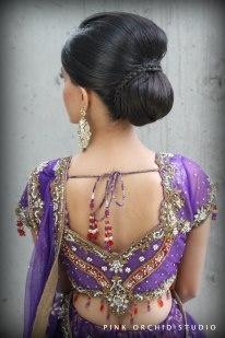Indian Bridal Hair/Makeup  more inspiration @ http://www.ModernRani.com