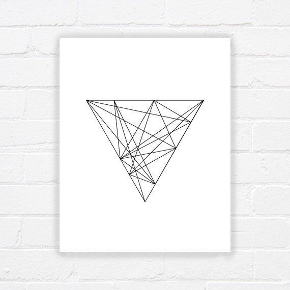 Art géométrique imprimable - art minimaliste imprimable imprimable art noir et blanc - dessin au trait - - imprimable moderne art - DIGITAL DOWNLOAD par WhereisAlex sur Etsy https://www.etsy.com/fr/listing/219895037/art-geometrique-imprimable-art
