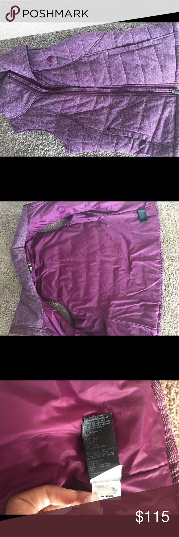 Woman's north face vest Purple woman's north face vest worn twice with north face fleece North Face Jackets & Coats Vests