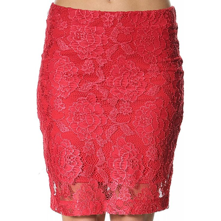 Fusta Dama NOISY MAY Lace Trend