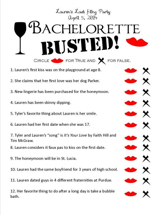 Inventive image in bachelorette party games printable