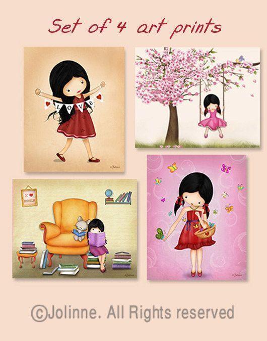 Mädchen Zimmer Bilder, Kinderzimmer Dekor, Kinder