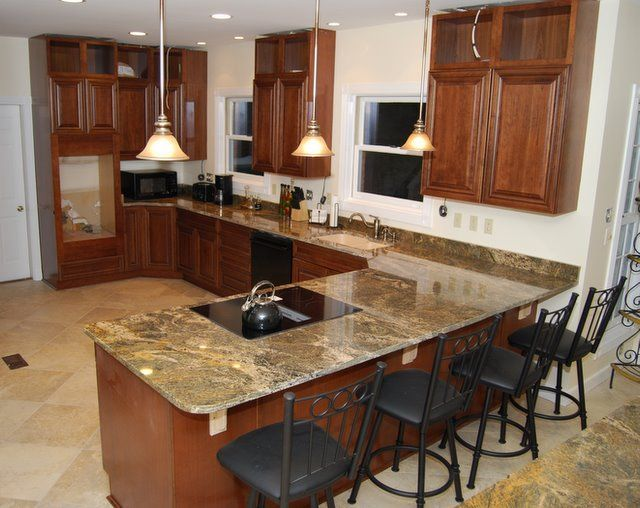 48 Best Granite Kitchen Counter Tops Images On Pinterest  Granite Stunning Counter Kitchen Design 2018