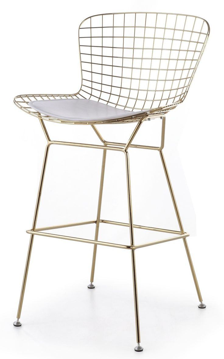 bertoia bar stool in gold  advancedinteriordesignscom.  best bar stool images on pinterest  bar stools counter