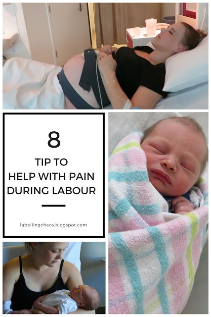 8 Tips to help with pain during labour