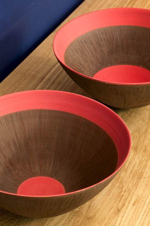 Elizabeth Fonseca and Gilberto Paim ceramics.  http://www.gilbertoeelizabeth.com.br/ingles.htm