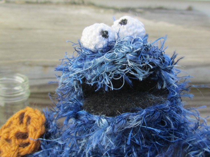 Amigurumi Cookie Monster Pattern : 17 Best images about Muppets Crocheted on Pinterest ...