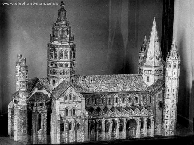 Model built by Joseph Merrick