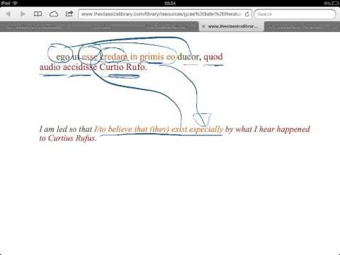 ▶2012 GCSE Latin Pliny Ghosts 1 - YouTube