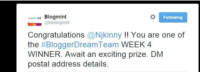 Won a #surprise #WeeklyPrize as part of the #BloggerDreamTeam #contest! :) Here is my post written for the contest: http://www.njkinnysblog.com/2015/06/the-best-street-food-in-lucknow.html #foodie #foodBlogger