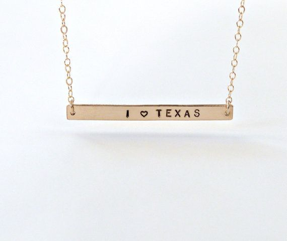Texas Necklace State Pride