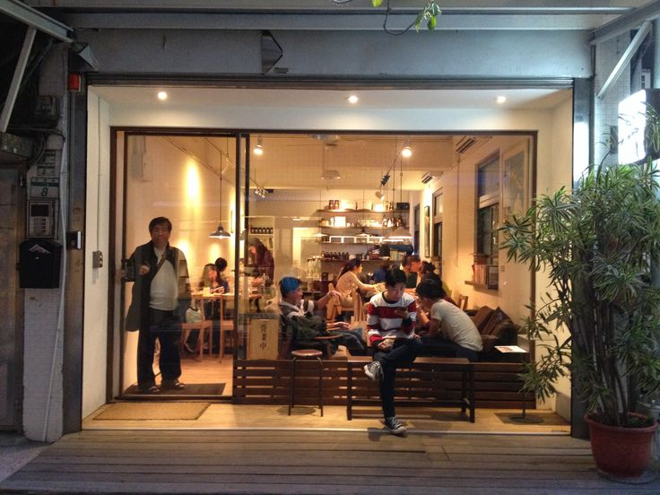 Many hip cafes in zhongshan