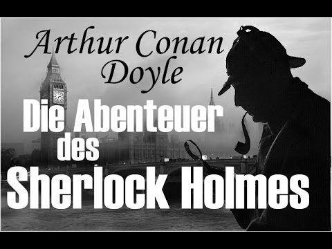 """Arthur Conan Doyle """"Die Abenteuer des Sherlock Holmes"""" Hörbuch... Wer mit den Geschichten um Sherlock Holmes, den größten Detektiv aller Zeiten noch nicht vertraut ist, kann sich freuen. Besser kann er sie wahrscheinlich nicht kennenlernen.  Sherlock Holmes' Scharfsinn, mit dem er unzählige Fälle lösen kann, gründet auf seiner bekannten Methode von Beobachtung und Schlussfolgerung.  Seinem Partner Dr. Watson kommt die ehrenvolle Aufgabe zu, die Chronik der Fälle zu schreiben..."""