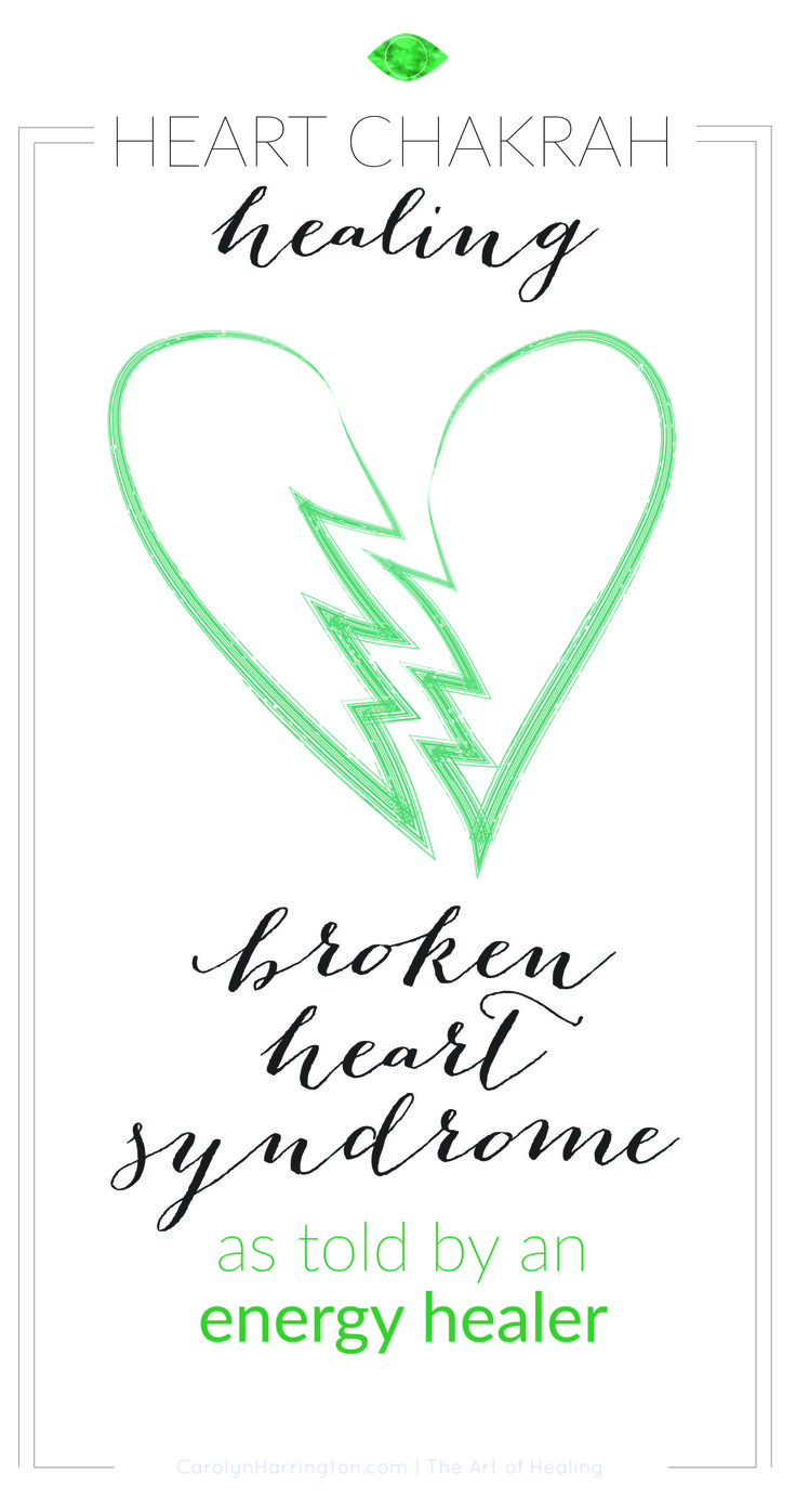 An energy healing expert explains what can cause broken heart syndrome form an energy healing standpoint and how your heart chakra is affected.