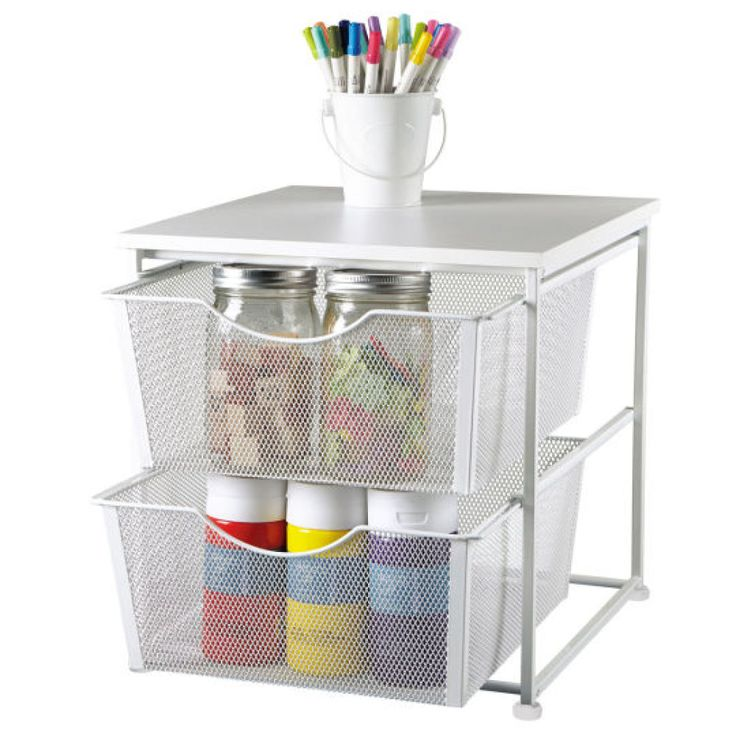 16 best craft room images on pinterest diy atelier for Recollections craft room storage amazon