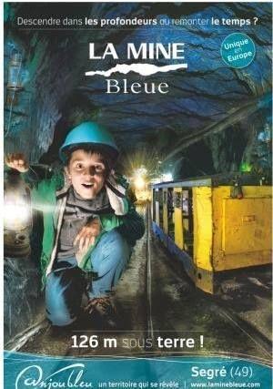 Du lundi 20 au dimanche 02 novembre inclus, la Mine Bleue sera ouverte tous les après-midis en semaine, de 14h à 18h avec une visite guidée des galeries à 14h30 (se présenter à l'accueil du parc dès 14h) - Les week-ends, horaires habituels, de 10h à 19h avec plusieurs visites dans la journée. Plus d'informations http://www.laminebleue.com/
