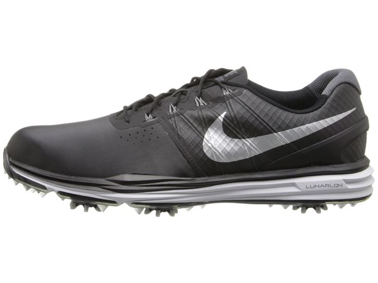 free shipping a8c71 3d489 ... Nike Lunar Control 3 Golf Shoes Black White Silver 704665 001 210 ...