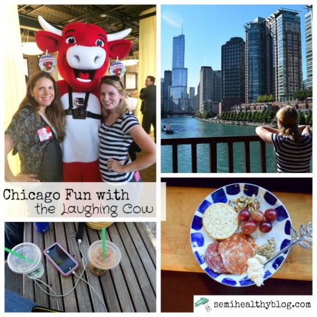 chicago fun with the Laughing Cow via @semihealthnut at semihealthyblog.com