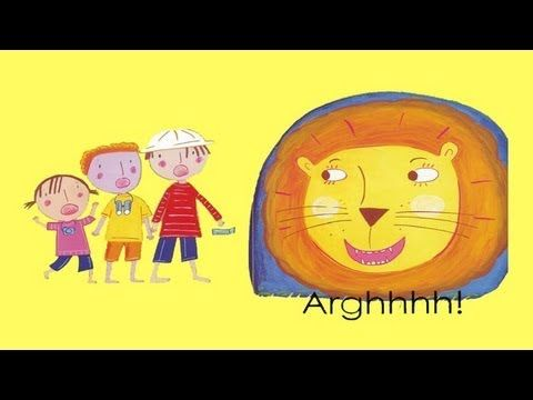 Are you ready to sing along read along? We're going on a lion hunt and we're not scared... join us if you dare! Oh oh long grass chop, chop...A great song to share with children! #music #book #lovetosing