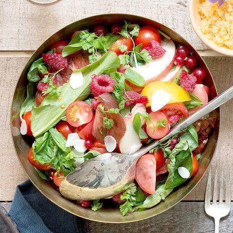 Salades légères et gourmandes pour les nulles