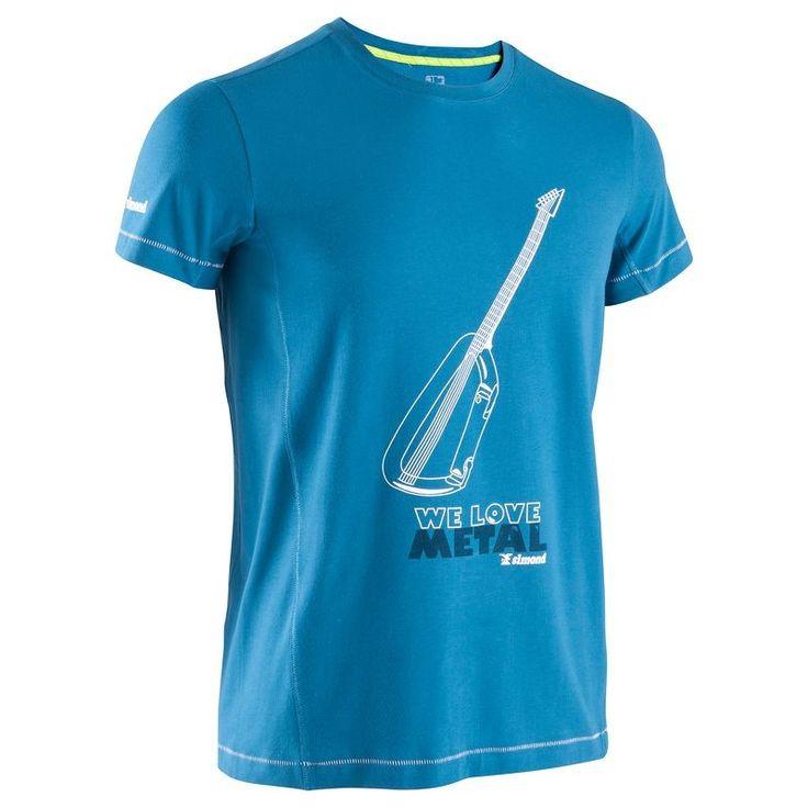 Sziklamászás Sziklamászás, hegymászás - Férfi póló SIMOND - Sziklamászó ruházat és felszerelés