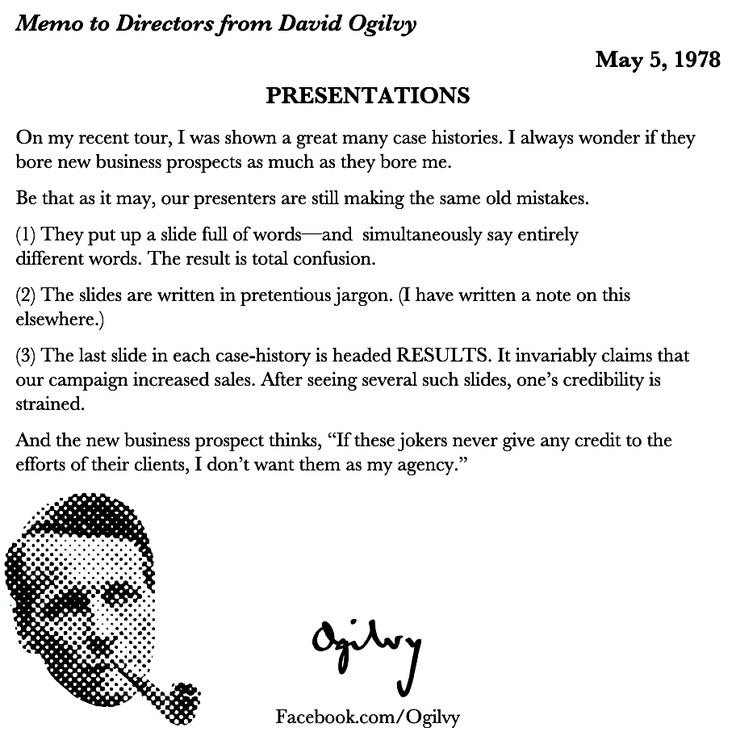 25 best David Ogilvyu0027s Memos, Letters, and more images on - strategy memo