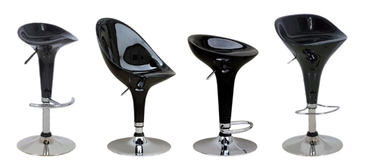 Got a set of six (at R280 each) of the third style of bar stools for my new kitchen!