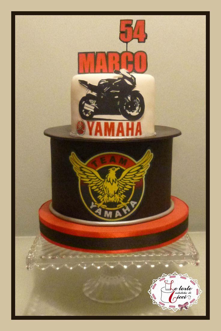 Yamaha man cake