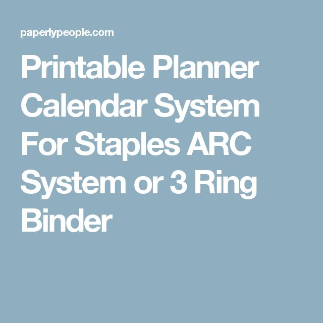 Arc 2014 Staples Pages Template Printable Calendar