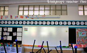 Ladybug's Teacher Files: Classroom Tour {Part 1}