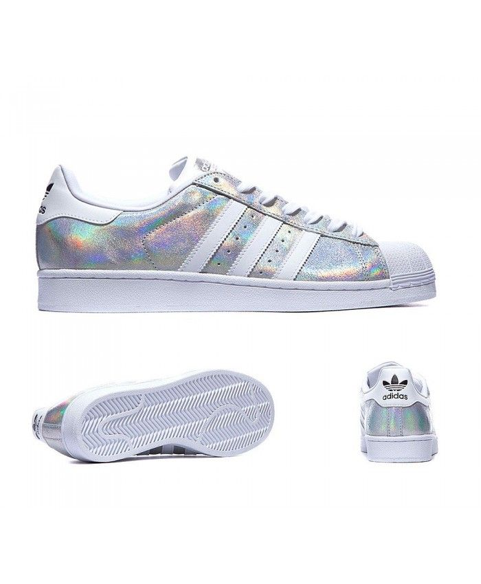 best service 12420 6e819 Adidas Originals Superstar Shine White Trainers Sale UK