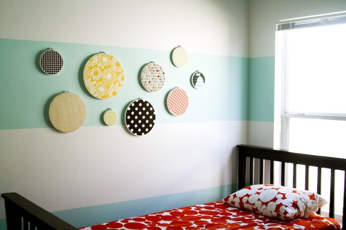 Striped wall inspiration