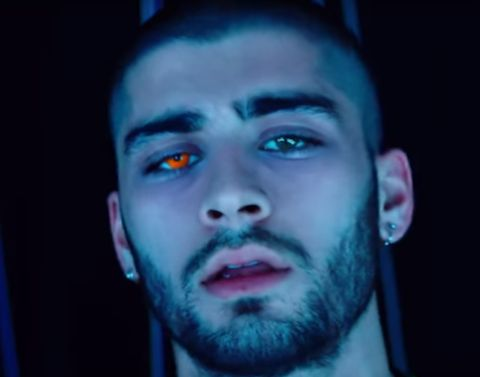 You Won't Believe Your Eyes When…You See Zayn Malik's Eyes from InStyle.com