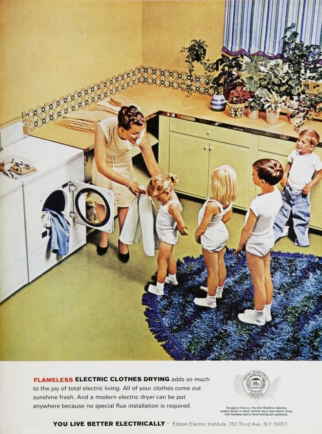 Clean Clothes Being The Mommy Funny Vintage Ads