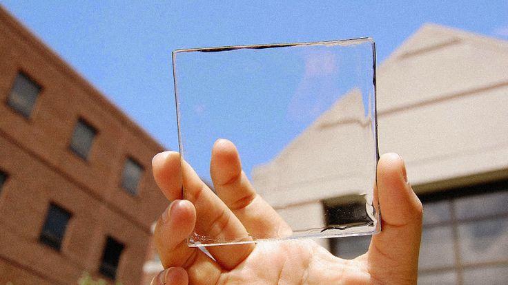 Painéis solares totalmente transparentes que podem transformar janelas, e ecrãs de telemóveis, em fontes de energia.