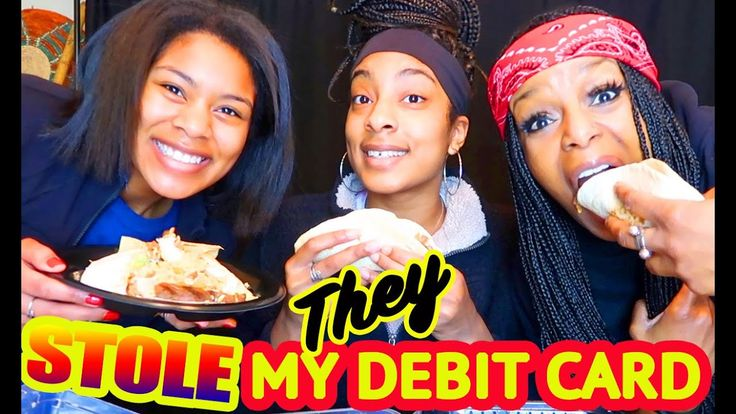 They got me yall my debit card was stolen youtube