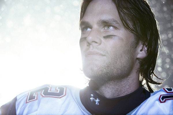 Tom Brady and Under Armour. Go Pats!