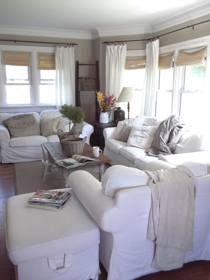 17 best images about living spaces on pinterest painted - Modern window treatments for living room ...